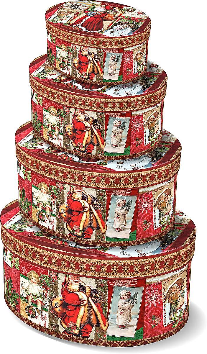 "Подарочная ""овальная коробка"" BR-B-OVAL-B-3,BR-B-OVAL-B(1,2,3,4)"
