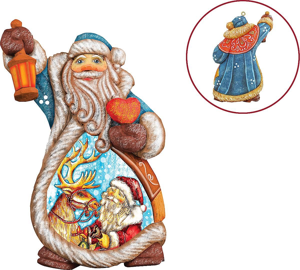"""Игрушка новогодняя коллекционная """"""""Дед Мороз"""""""" US 661212"""