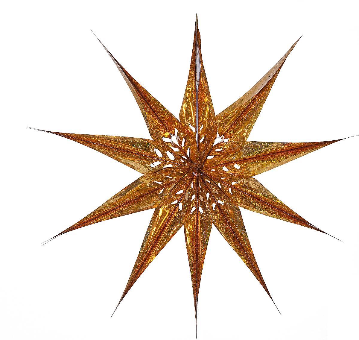 """Украшение фольгированное """"Звезда"""" Z 584"""