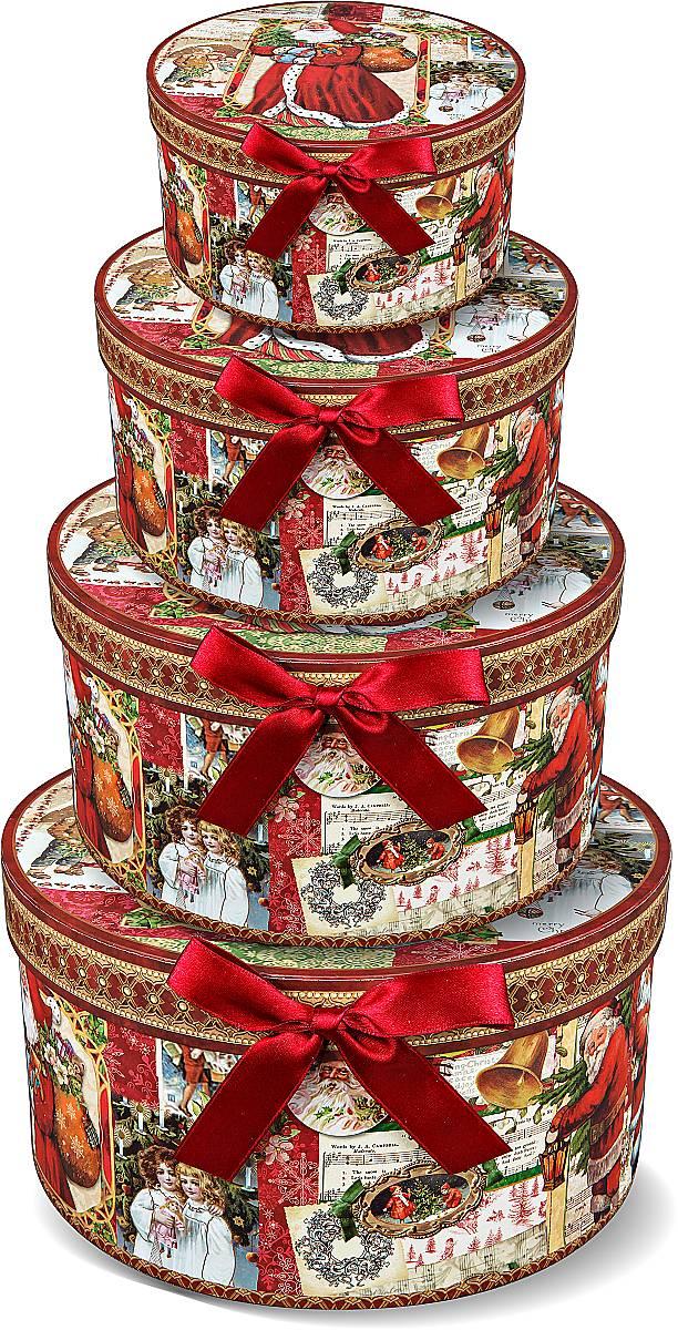"Подарочная ""круглая коробка"" BR-B-ROUND-B-2,BR-B-ROUND-B(1,2,3,4)"