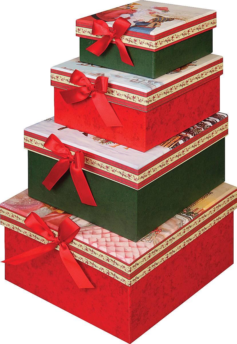 Подарочная квадратная коробка BR-B-SQUARE-4,BR-B-SQUARE(1,2,3,4)