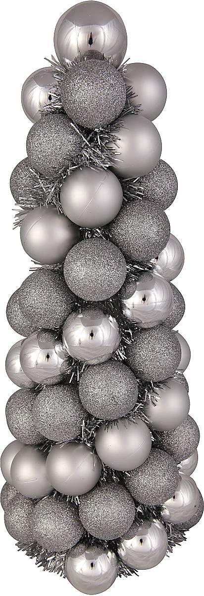 Декорированная елка из шариков  BC-TREE-1-S