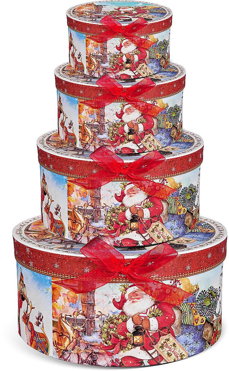 "Подарочная ""круглая коробка"" BR-B-ROUND-C-4,BR-B-ROUND-C(1,2,3,4)"