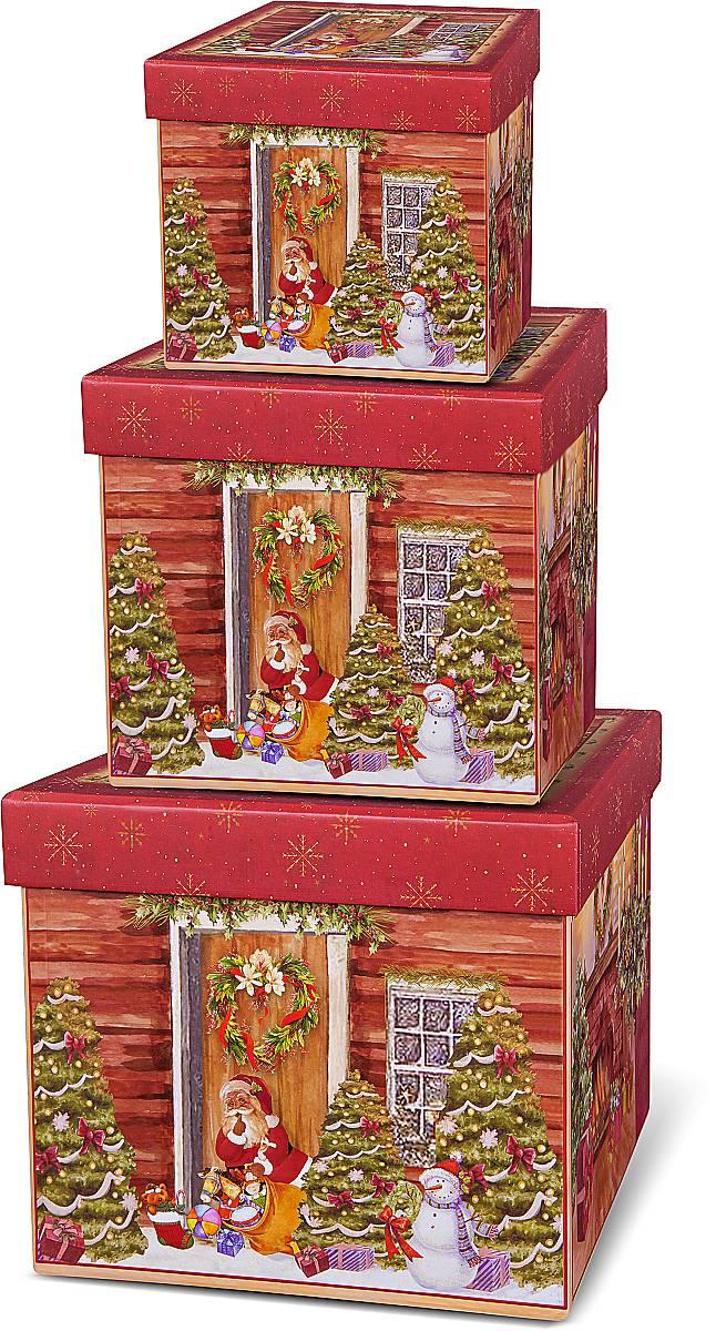 "Подарочная ""квадратная коробка"" BR-B-SQUARE-D-2,BR-B-SQUARE-D(1,2,3)"