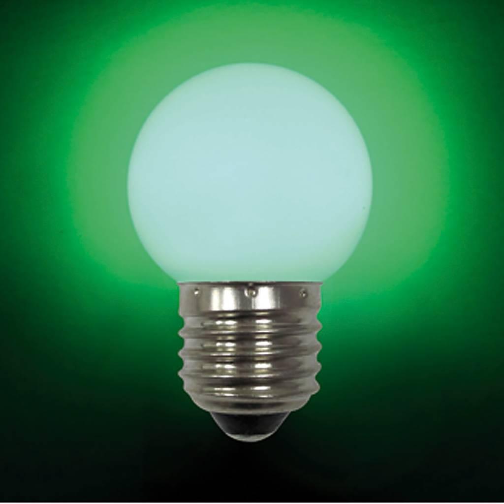 Лампа светодиодная E27 LB-45-GREEN