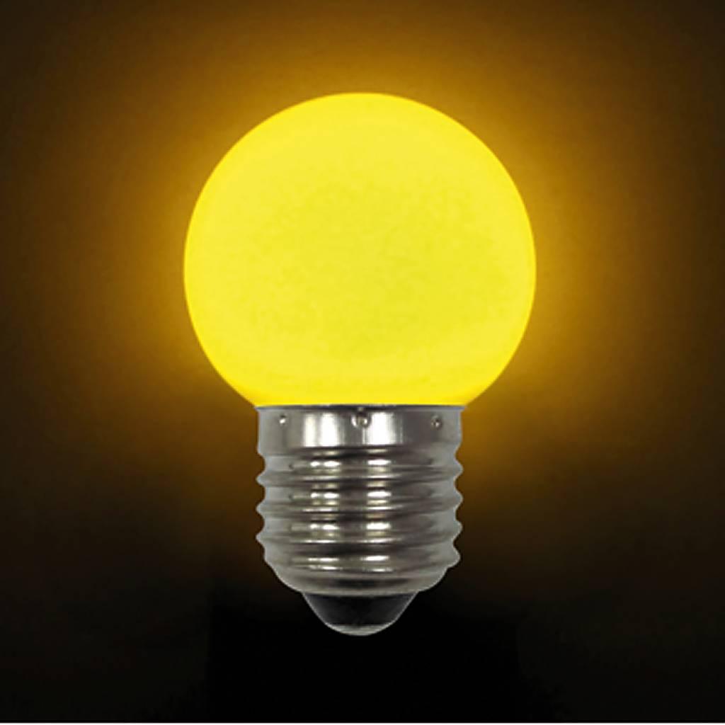 Лампа светодиодная E27 LB-45-YELLOW
