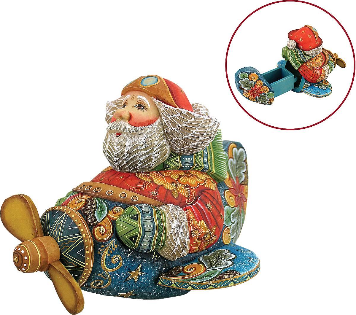 "Шкатулка коллекционная """"Дед Мороз"""" US 51203"